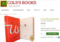Coles Books eCommerce website